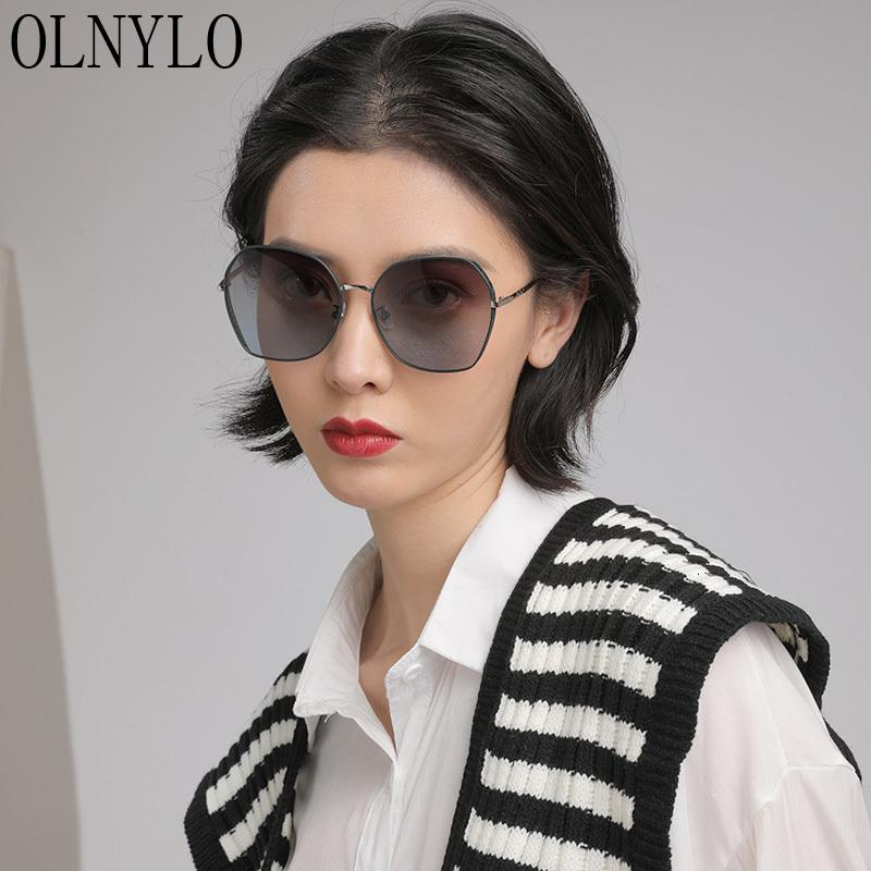 Black Frame Lady Oversize Sun Brand Brand Padonia Guida Uomo Donne DE Occhiali Occhiali da sole Nuovi occhiali Oculos Sexy Sol RFIQM