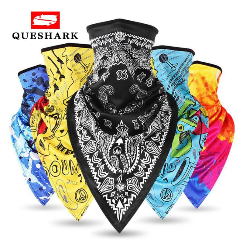 Professional Men Women Sport Triangle Scarf Cycling Hiking Camping Hunting Running Breathable Half Face Mask Bandana