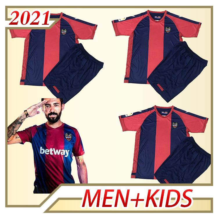 20 21 LEVANTE UD Version Version Jersey de football 2020 2021 Rochina Levante A.J.Morales Roger MS. Bardhi J Campana Shirts Football