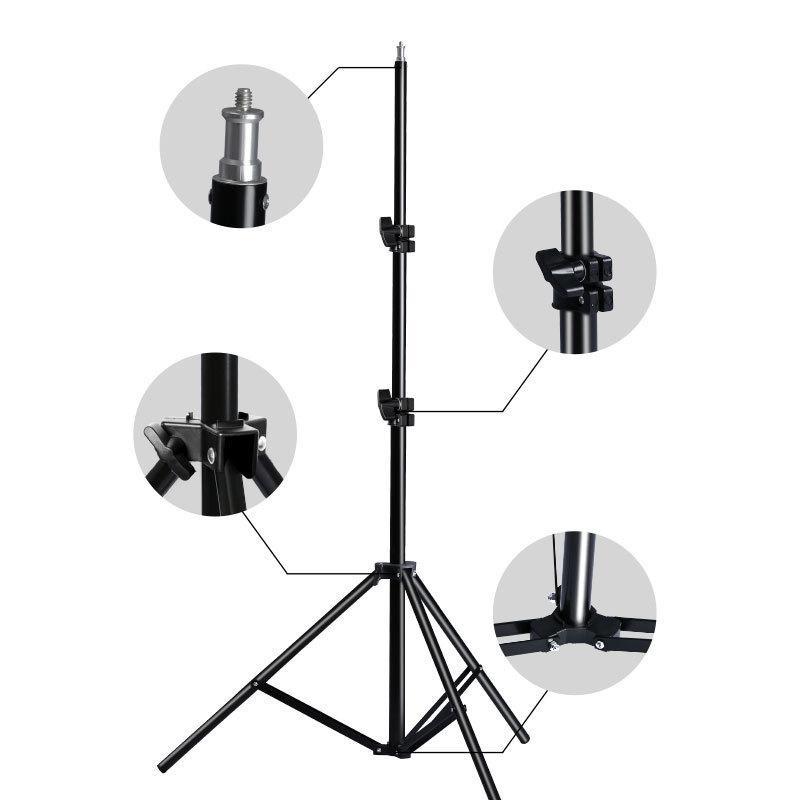 Navitech Lightweight Aluminium Tripod Compatible with The Canon EOS M100 Camera