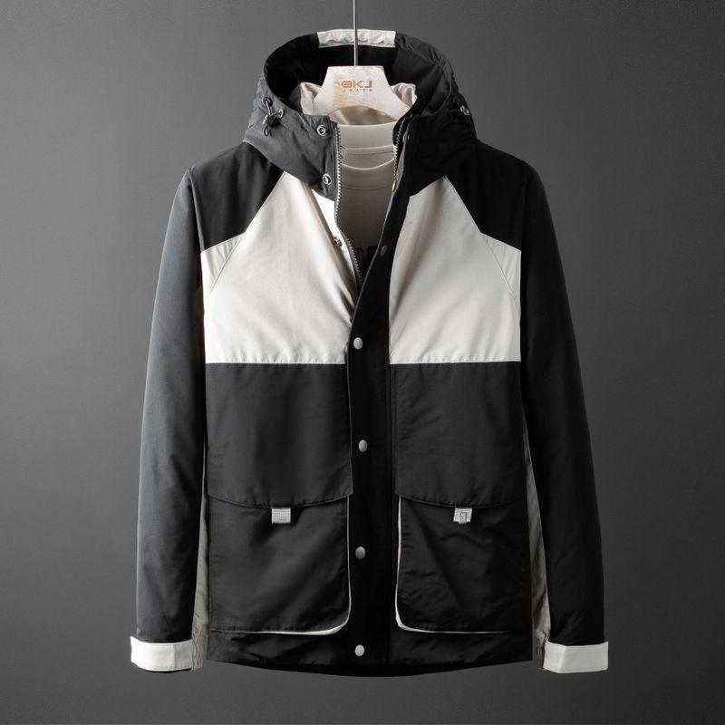 Erkek Ceket Ekleme Açık Eğlence 2020 Yeni Moda Stil Sıcak Aşağı Ceket