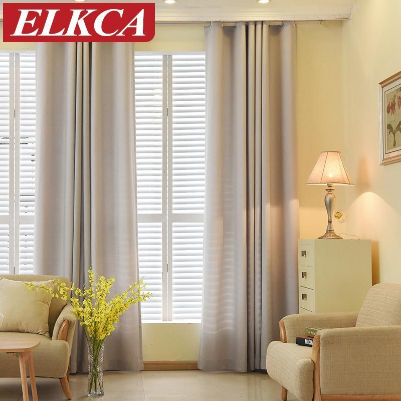 الصلبة اللون فو الكتان المخملية الستائر لغرفة المعيشة ستائر الحديثة لغرفة النوم نافذة العلاج الأطفال