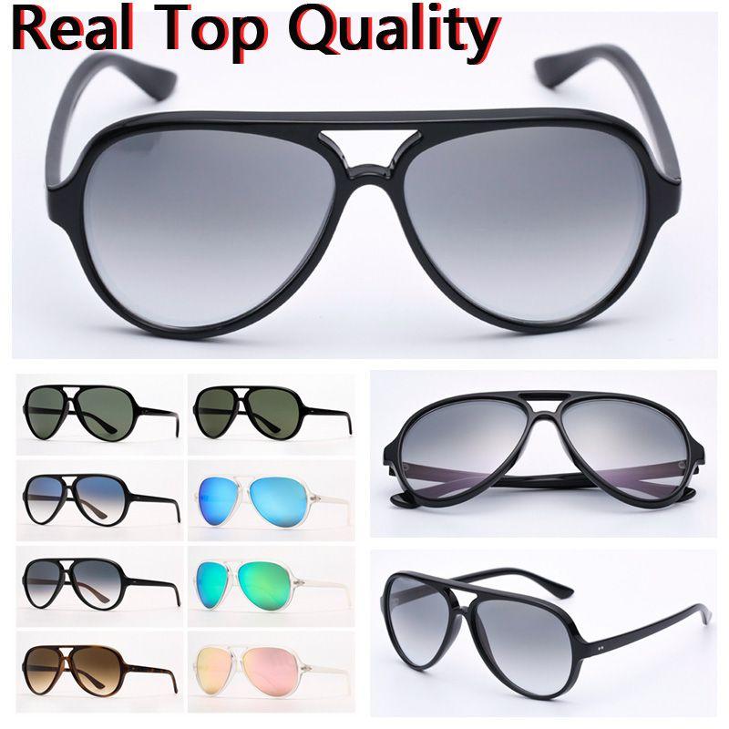 Mulheres óculos de sol Mens moda óculos de sol gato 5000 óculos de sol nylon quadro g15 lentes design de gato com estojo de couro e pacotes de varejo!