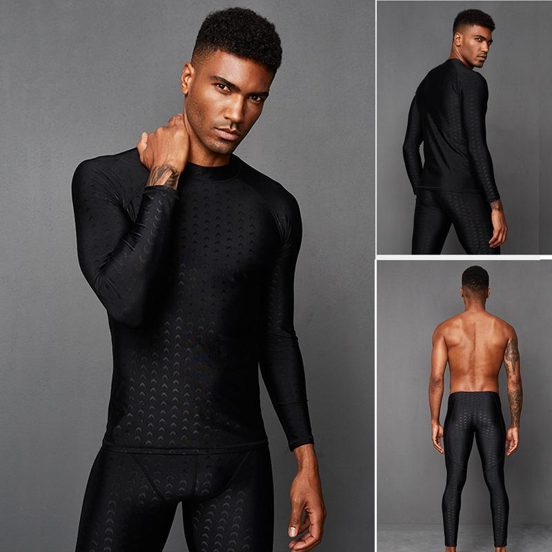 دنة دنة ملابس السباحة رئيسية مع LCRA جلد سمك القرش