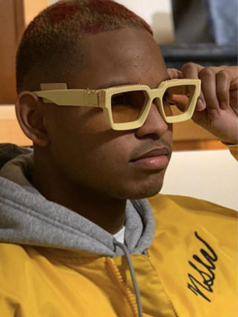 Hot vender Luxo MILIONÁRIO M96006WN óculos full frame óculos escuros de grife vintage para homens Logo brilhante do ouro banhado a ouro Top L96006
