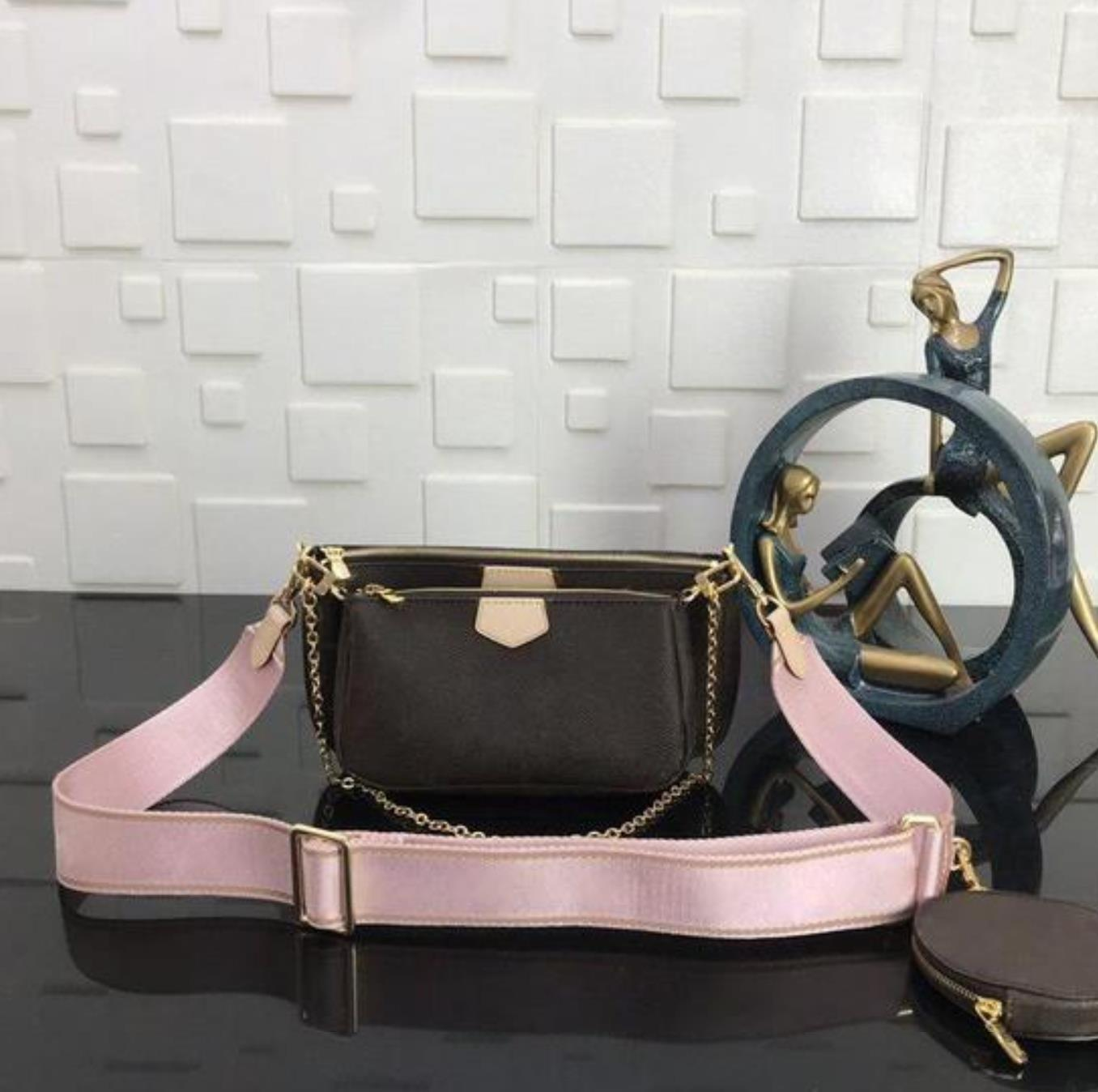 2020 Muji borse luxurys progettisti delle borse di modo delle donne 3in1 Borse di alta qualità Vera Pelle grande capacità Shopping Bag