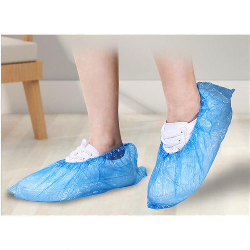 Прозрачная крышка 100 сумки для обуви / лота утолщенные оптом Одноразовые пластиковые пыли сапоги защитные продукты бесплатно