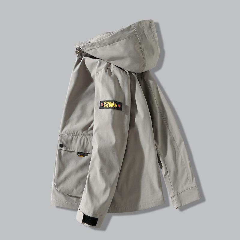 8XL 7XL Super tamanho grande 2020 Nova Primavera Outono Bomber Jacket Men Casual casaco corta-vento Zipper com capuz Outwear Masculino Jacket