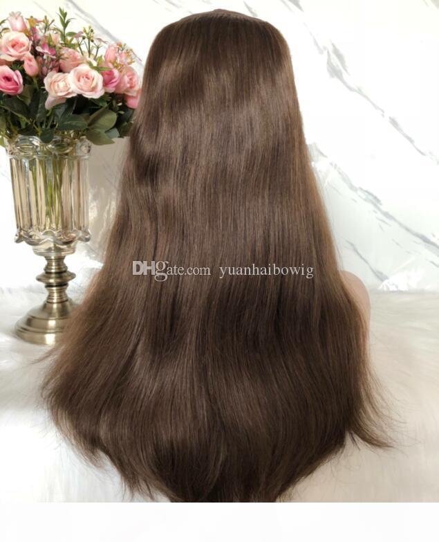Hat Fall Парик 8А Human Лучший волос Sheitels еврейский парики Finest Virgin Европейский кошерный волос парики монолитным парики Бесплатная доставка