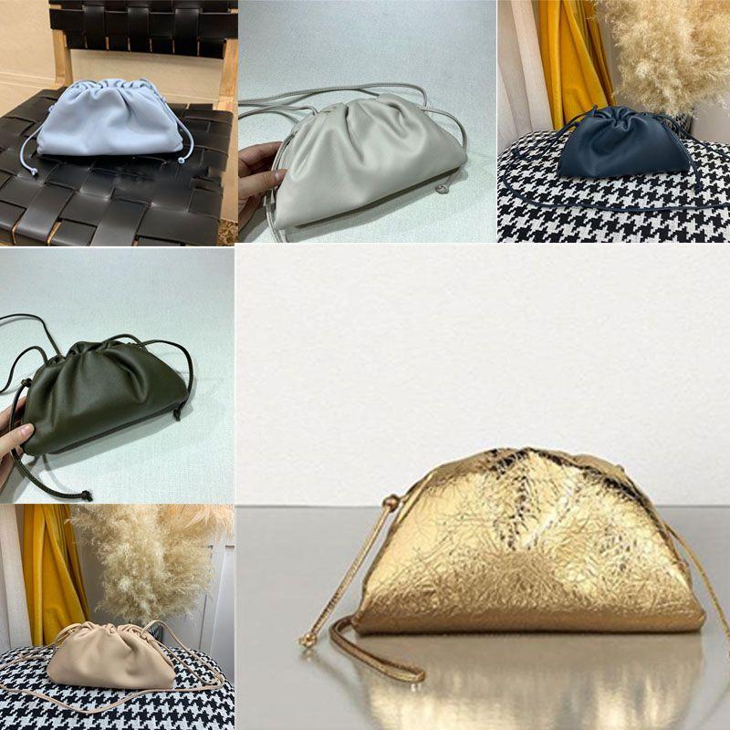 2020Top Qualidade A bolsa macia Weave bezerro Ladies Clutch Bag Handbag Moda crossbody mulheres Sacola FuPJ #