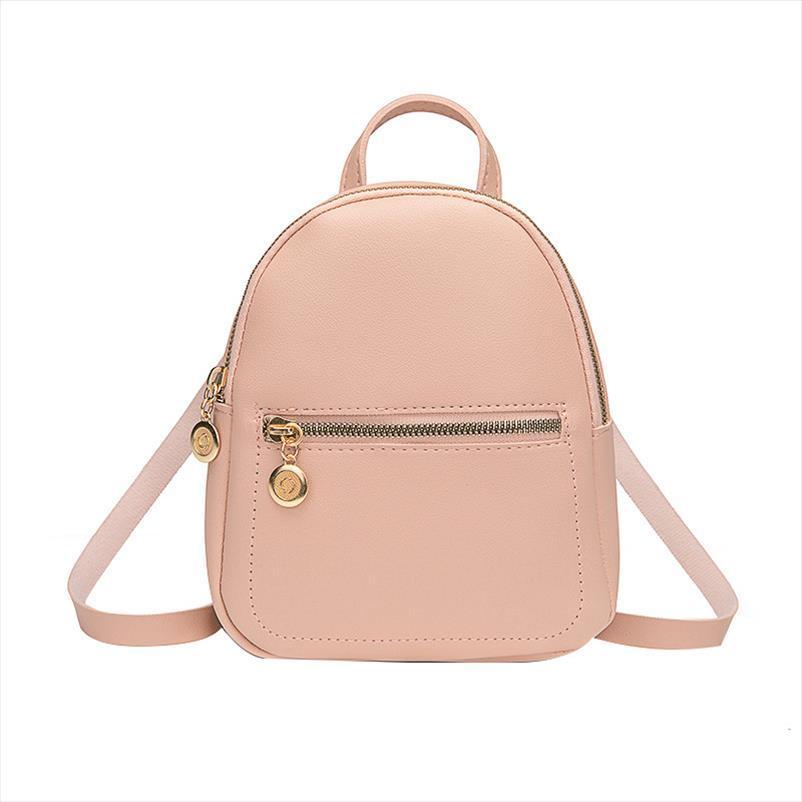 A tracolla in pelle Mini PU donne zaino borsa per Ragazze adolescenti Bambini Multi Function piccola scuola dello zaino signore
