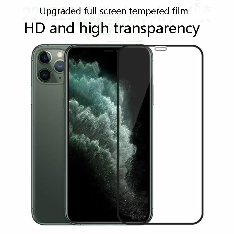 Полное покрытие Bubble Free Анти царапинам закаленное стекло мобильный телефон фильм Закаленное стекло экрана протектор для iPhone 678
