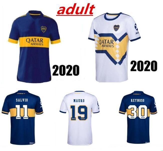 NCAA Player Версия 2020 BOCA Jerseys Jerseys 2021 Tevez Alexis Maradona Maraa de Rossi Salvio Sports Football Boaca Men + Kids Set