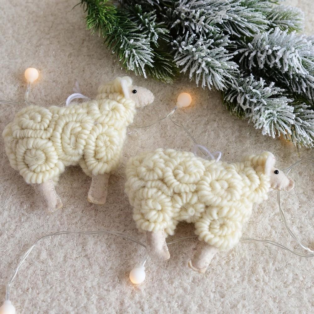 Şekil Süs Koyun Ağacı Kolye Dekorasyon Asılı Ev Noel Dekorasyonu Yeni Yıl 2020 Noel 1.25