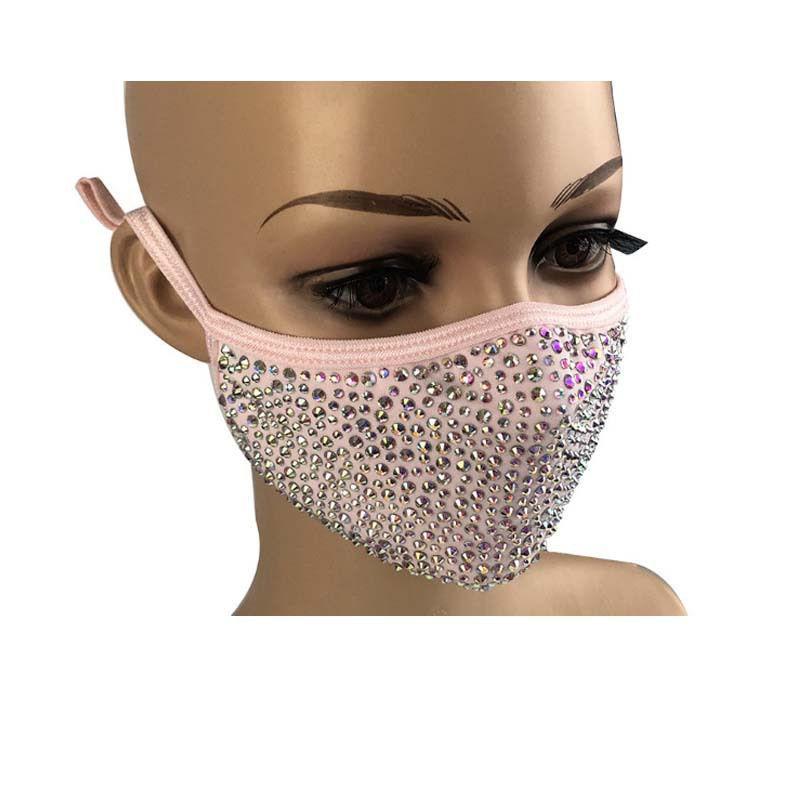 Популярная маска эластичный блесток GGB2410 маска Bling Protective ветрозащитный моющийся вкусное лицо пыли