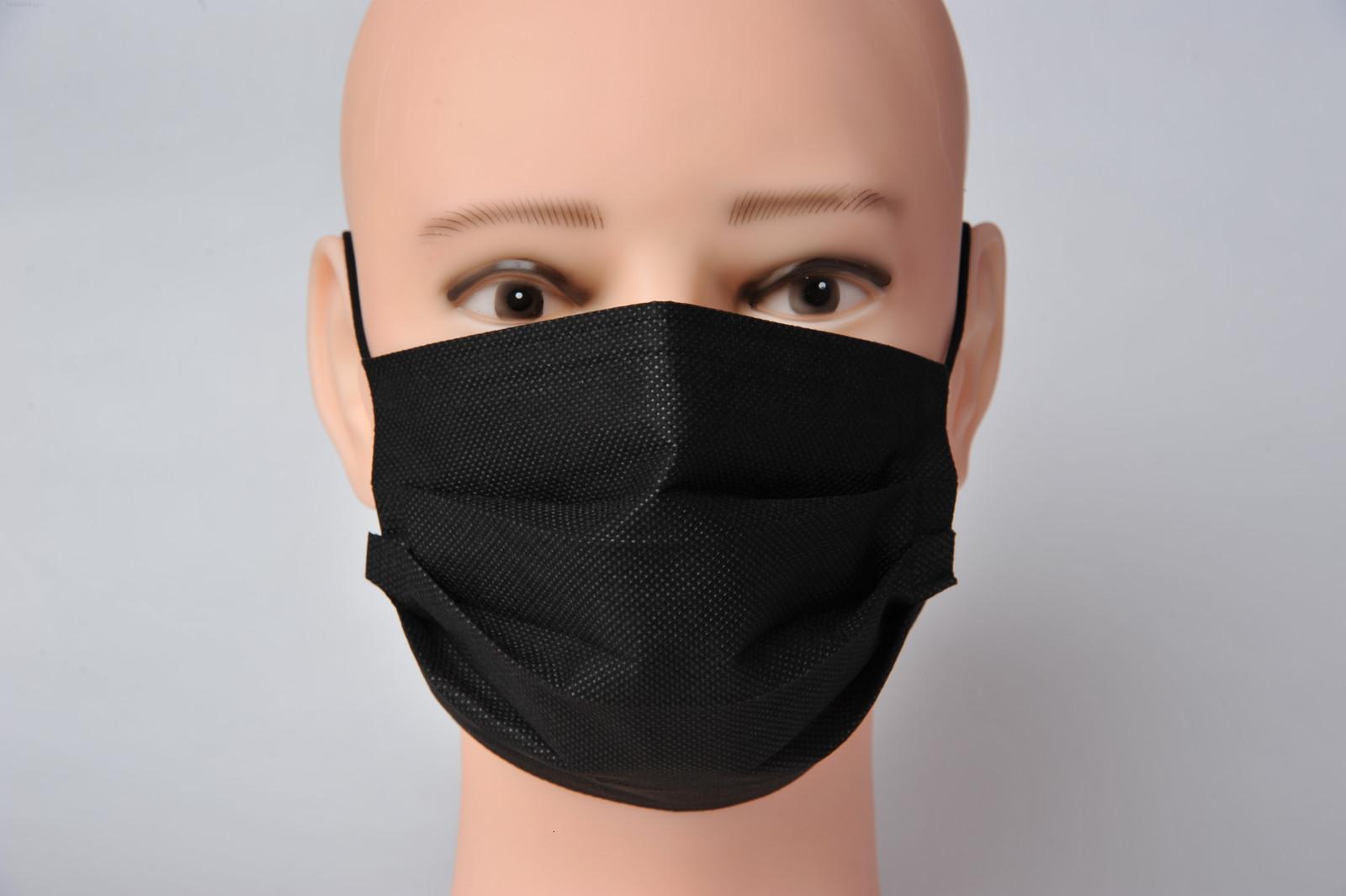 UPS 3-7 estoque grande entrega rápida! rosto de proteção com Elastic Ear laço 3 Ply respirável para Bloqueio máscara de pó Anti-Poluição