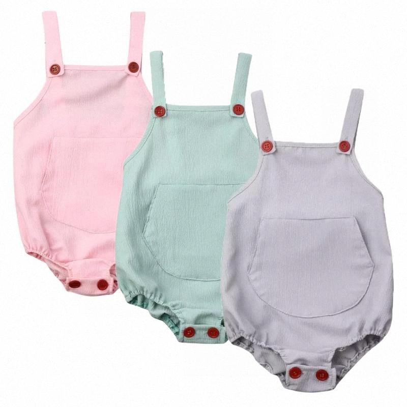 Baby-Kind-Baby-Mädchen-Spielanzug-Bodysuit sunsuit Outfits Fest Kleidung Einteilige 5rsF #