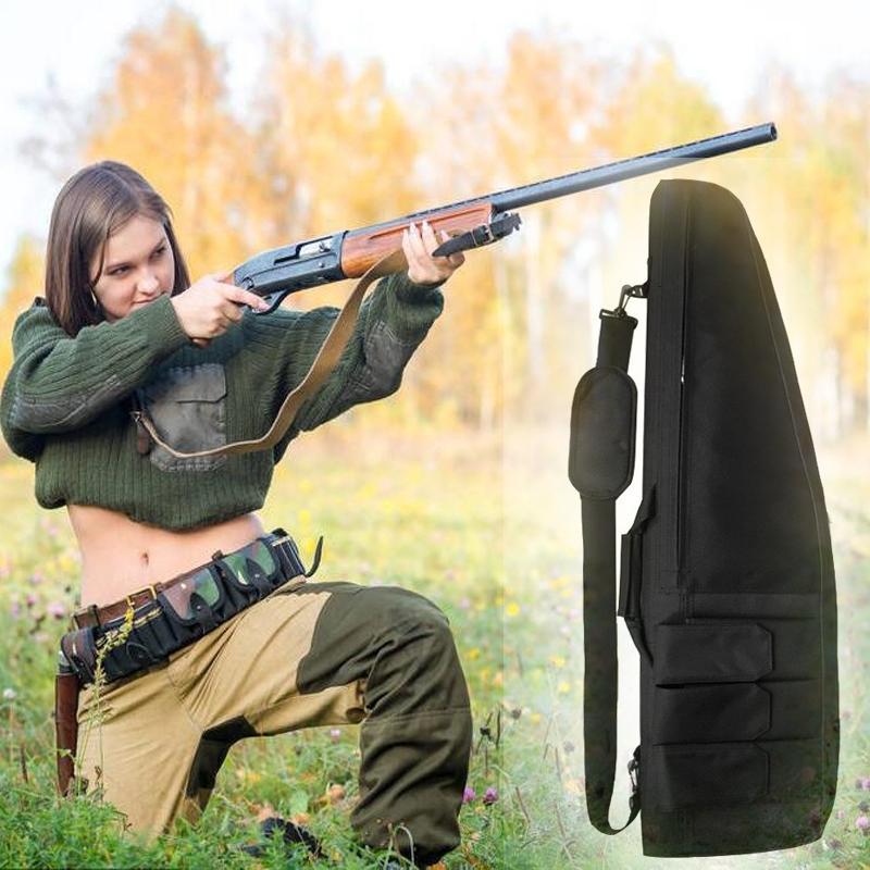 Black Friday 118cm Tactical Hunting Gun Tiro Militar Airsoft Rifle Acessórios Paintball Wargame Proteção Saco para Pesca de Acampamento
