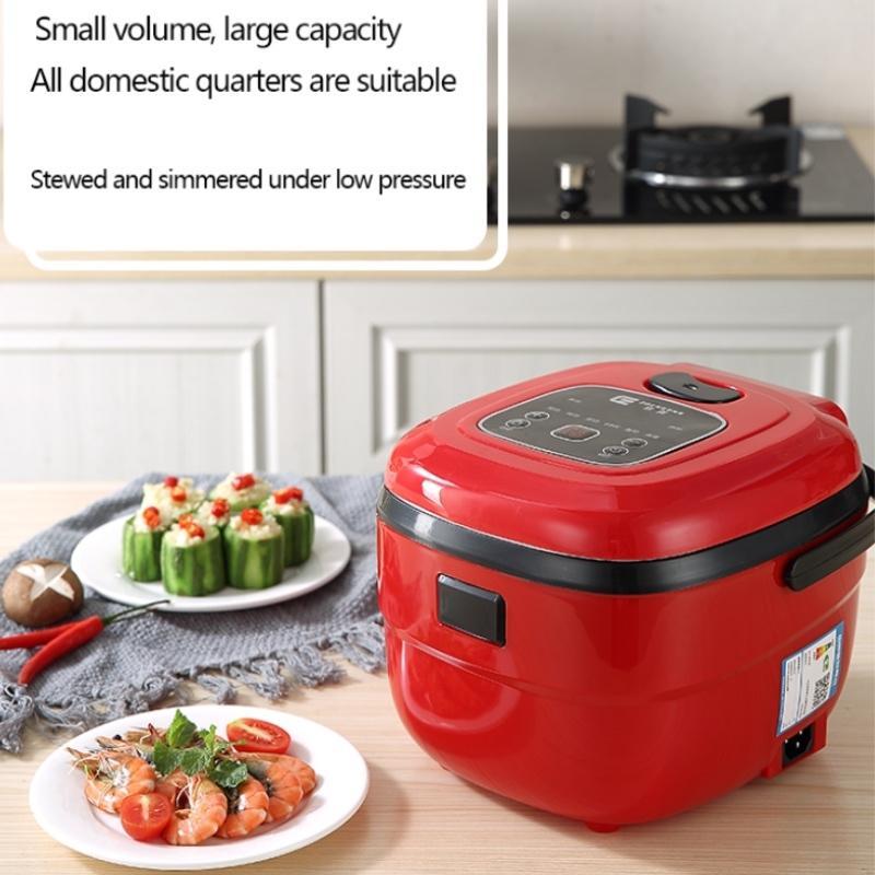 الأسرة طنجرة الأرز الكهربائية 2.5L سعة متعددة الأوتوماتيكية الأرز طباخ طباخ مطبخ قابل للتعديل لمدة 4-5 شخص 8 وظائف