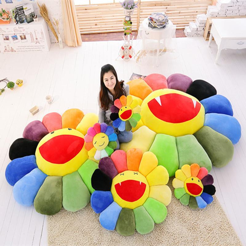 40x40cm Colorful Sunflower Lie propone a Lie Prone Pillow Office Siesta Almohada Almohada Almohada Cojín para apoyarse en el regalo del día de los niños W1231