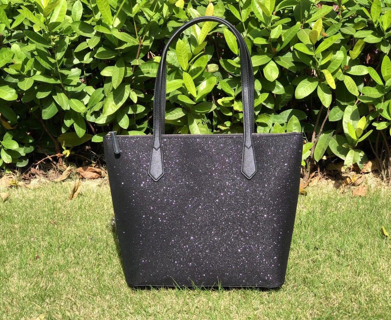 5 Farbe Marke Designer-Taschen große Shimmer Glitter Purse Luxus Umhängetasche Umhängetaschen Frauen Handtaschen-PU Totes Beutel Säckchen à main Designer