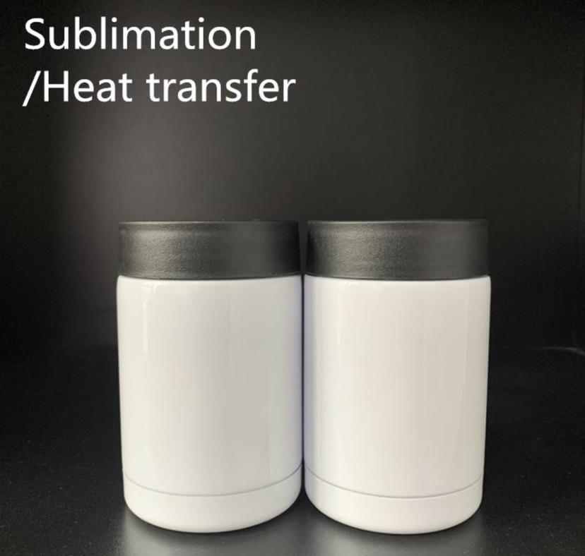 DIY التسامي الحرارة يمكن برودة نقل الحرارة سليم مستقيم كأس يمكن عازل الفولاذ المقاوم للصدأ الجدار مزدوج المشروبات يمكن الحارس الباردة yfab2680