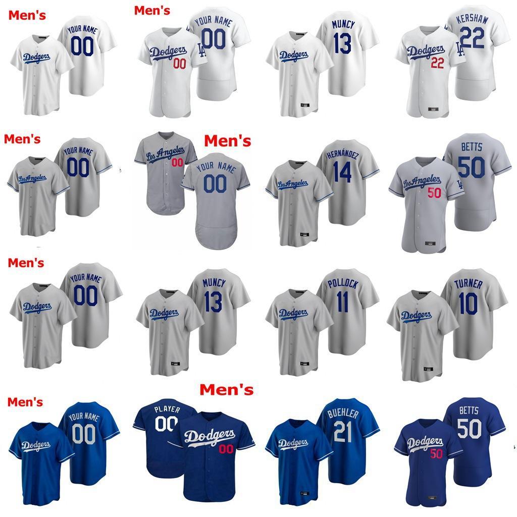 Jerseys de béisbol juvenil Niños Blake Treinen Jersey Alex Wood 42 Edwin Rios 35 Cody Bellinger Clayton Kershaw Justin Turner cosido personalizada