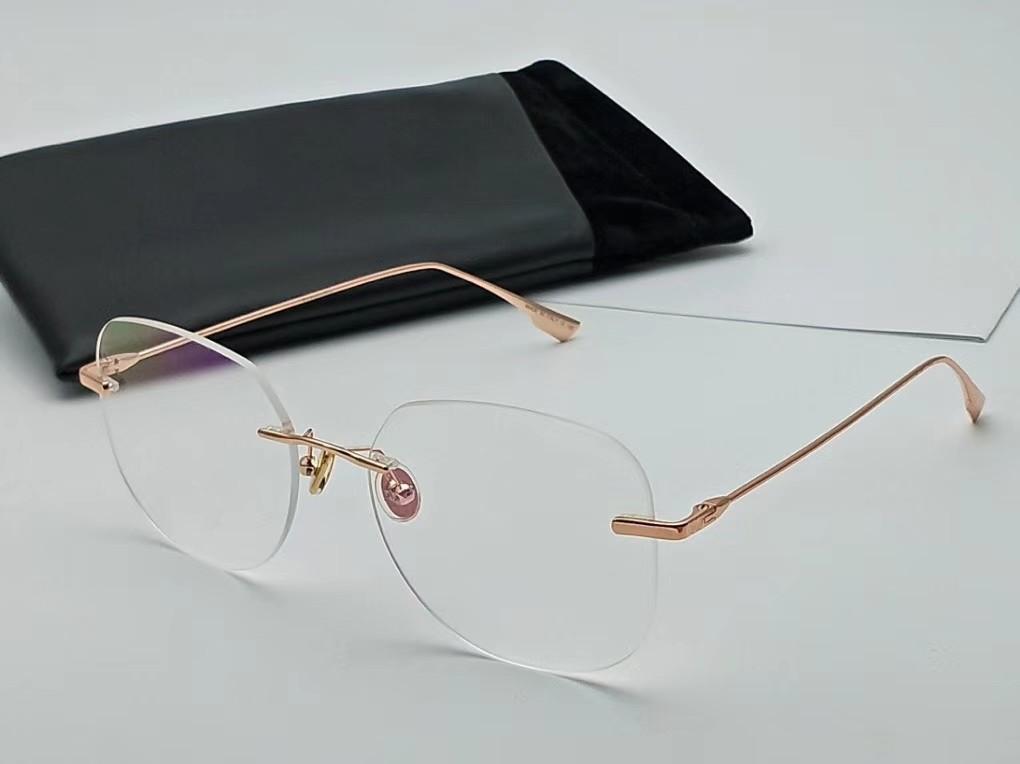 جديد النظارات الإطار النساء الرجال النظارات إطارات النساء النظارات إطار واضح عدسة نظارات الإطار oculos 06 والحالة