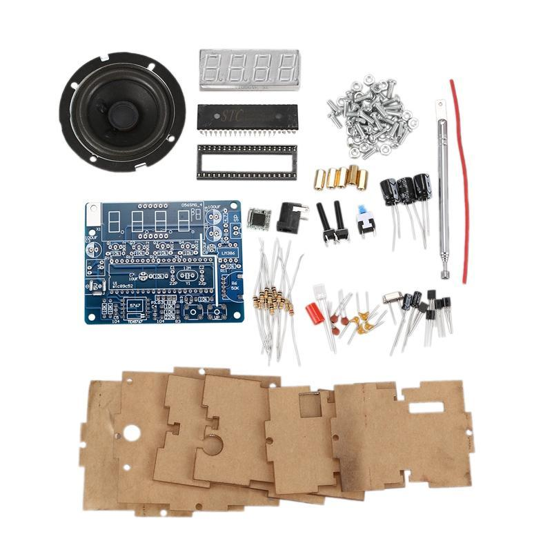 5767 DC 4.5V-5.5V Radio Diy Mini Digital FM 87MHz-108MHz 2W 8ohm Speaker Eletrônica Kit - Kits suportados Arduino kits DIY