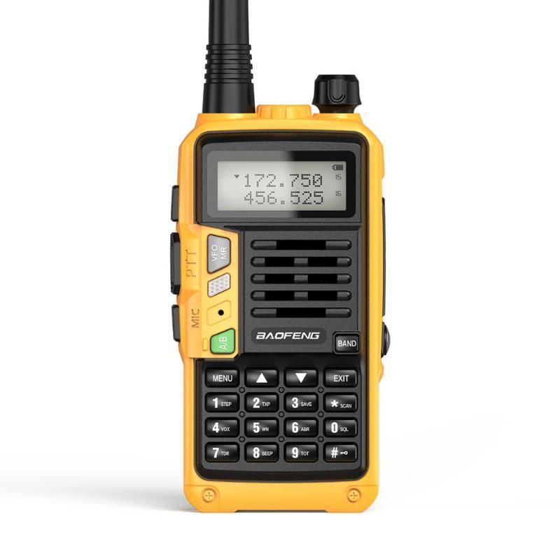 Walkie Talkie Set BAOFENG UV-S9 Plus 10W Powerful UHF VHF Dual Band Ham Two Way Radio Handheld Transceiver