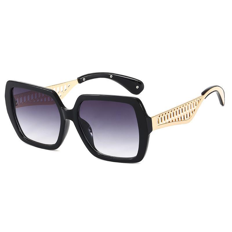 Gafas de sol de gran tamaño cuadrados Mujeres 2020 punk de la vendimia Gafas de sol de los hombres Sombras Oculos Femenino Lentes Gafas de sol UV400