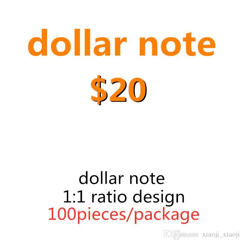 Prop Money Banknote Prop Movie Tool Toys Wholesale Counting Learning Game Kids Game 18 Dollar 20 Family Special Ckpph