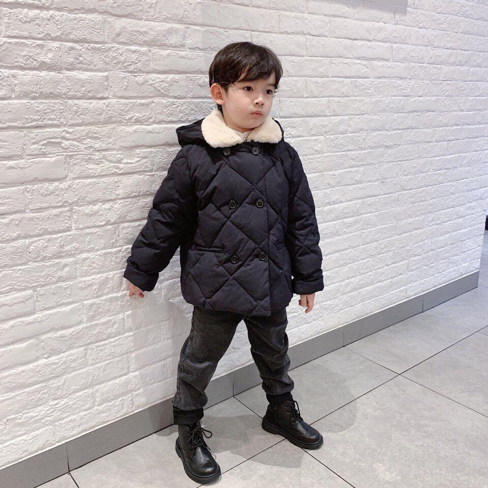New Children Short Down Jackets for Girls Winter White Duck Down Jacket Kids Thick Warm Coat High Quality Children Winter Coat