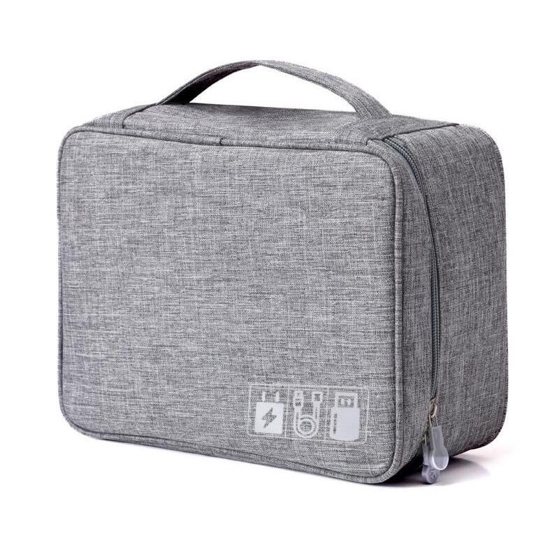 Nouveau sac de rangement de voyage Power Bank Accessoires électroniques Organisateur Digital Gadget Organisateur Étanche et anti-poussière Organisateurs Bag Y200714