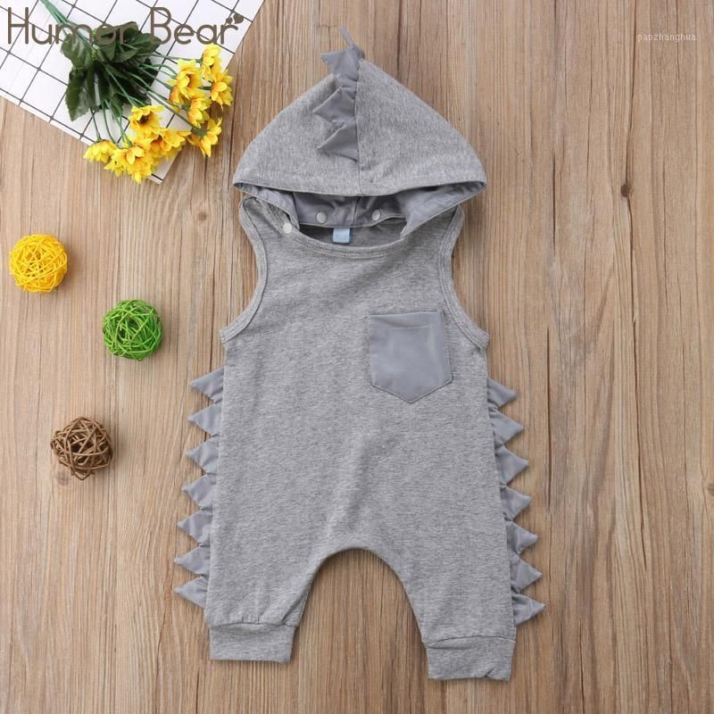 Humor Bear Baby Summer Boys Clothing 2020 Brand New Fashion Casual Baby Boy Rompers Clothes Birthday Party Jumpsuits1