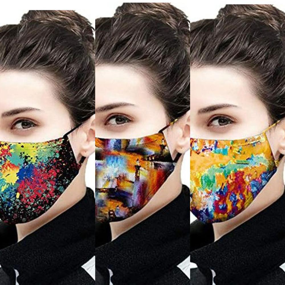 prevention breathable 2020 9AEQ dust haze and polyester cotton adjustable hanging straight 3D printi