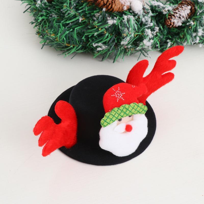 Creative Pet Рождественская шляпа Смешная вечеринка Головной убор Косплей реквизит для собак щенок (Санта)