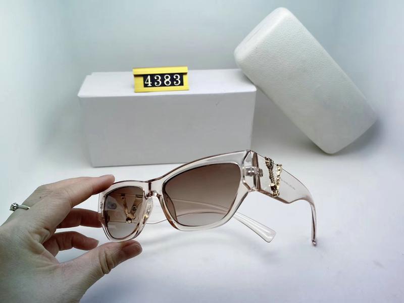 Женский чехол женщины черная мода 2020 солнцезащитные очки солнцезащитные очки мужчины негабаритные серые овальные роскоши очки UV 4383 объектив с коробкой дизайнер Prote NGPL