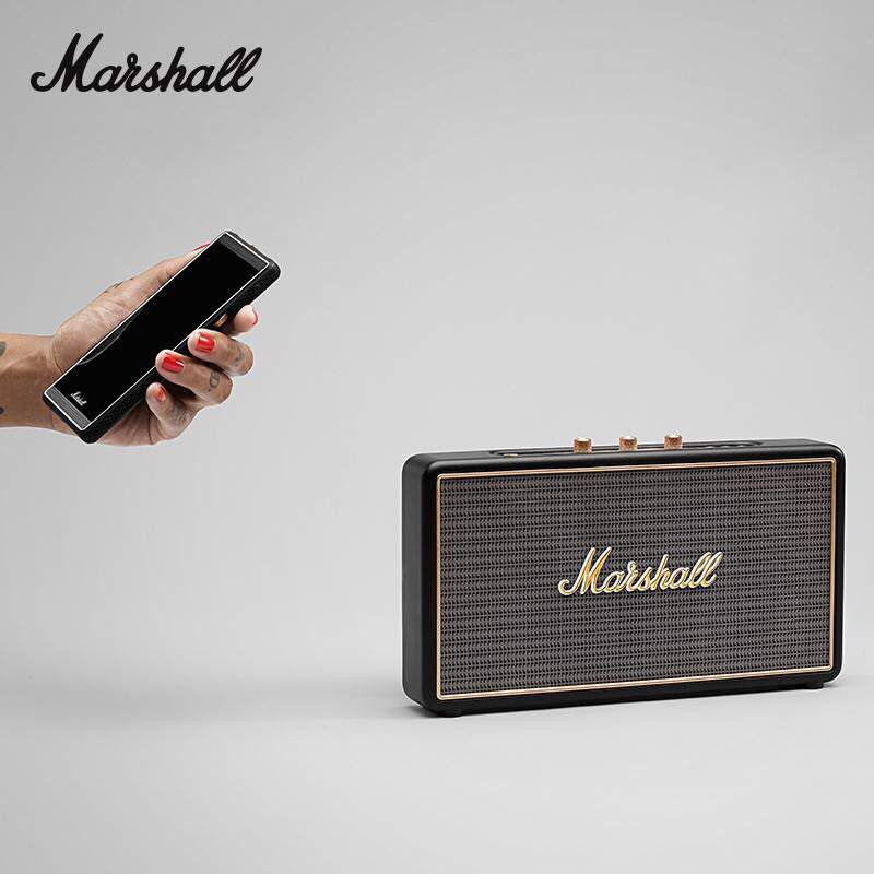 Marshall STOCKWELL Wireless Bluetooth Portable Subwoofer Retro Speaker AudioWith Flip Cover Case drop shipping