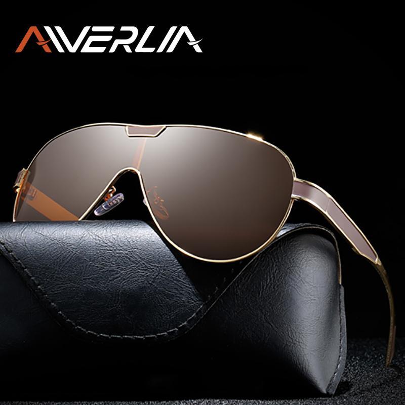 1007 Солнцезащитные очки Объектив поляризованные мужские Очки Золотая Айверия Дизайн Бренд Зеркало 1007 Черный Человек Oculos Masculino Ai55 Мужчины Солнцезащитные очки Dlwxe