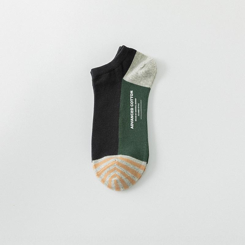 Yeni stil pamuk erkekler tekne kısa tüp Tekne Çorap ve ilkbahar ve yaz renk eşleştirme xQnRc yaratıcı Hanchao Erkek çorabı baskı