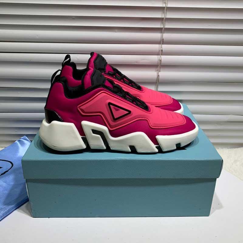 hommes chaussures de haute qualité surdimensionner 46 hommes et femmes chaussures de sport bas-top Lates P Cloudbust chaussures de sport de conception de Thunder série motif de triangle