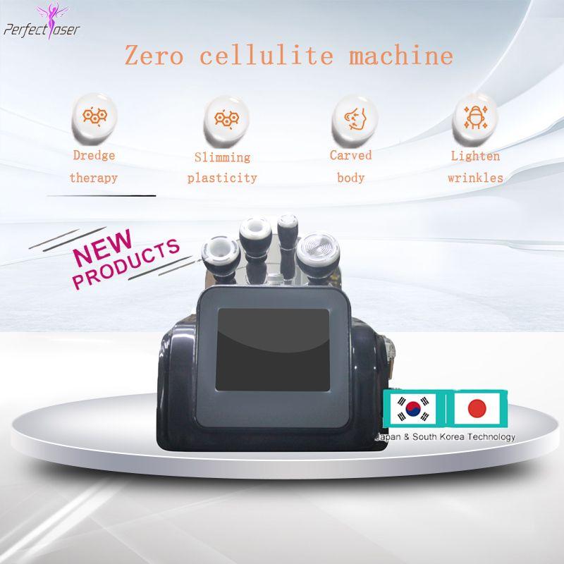 máquina de adelgazamiento cavitación lavado de cara del cuerpo del vacío del envío libre 80K cavitación RF para uso de spa en casa