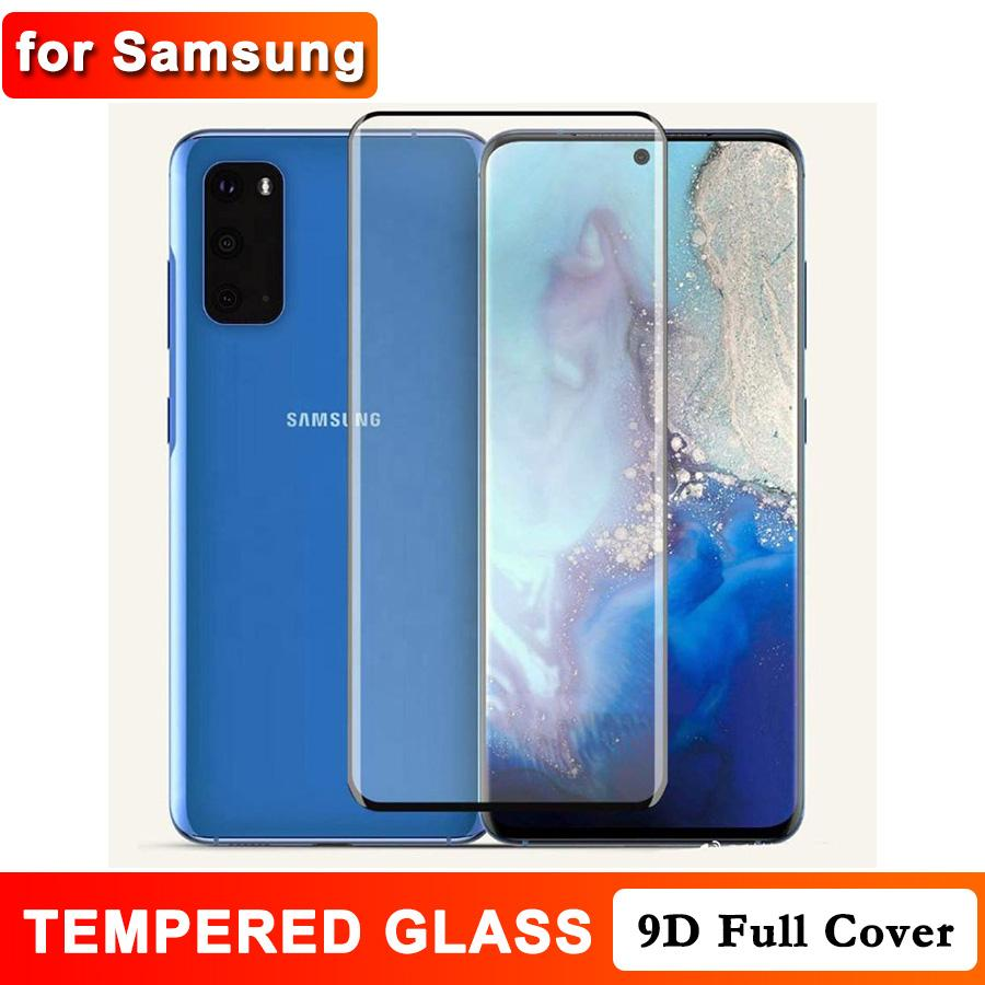 3D Curved Tempered Glass for Samsung Galaxy Note 20 Ultra S20 S10 S9 Note 10 9 S8 Plus Mate 30 P40 Pro Screen Protector with Retail Box