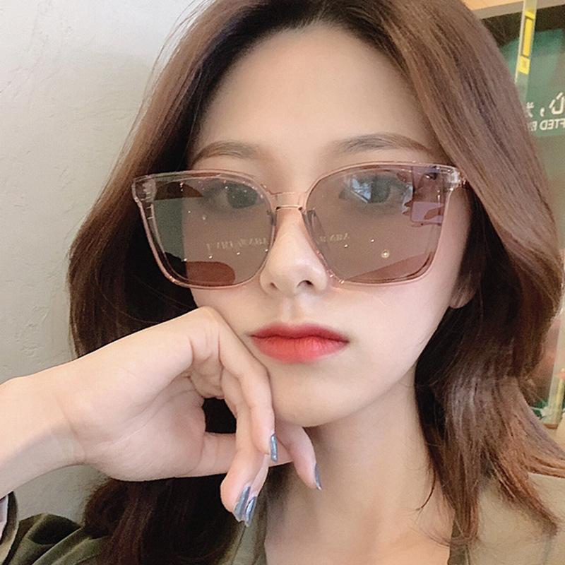 2020 MUJER Vintage Retro Gafas de sol Plástico Lente Color Color Color De Las Mujeres Gafas Classic Luxury De Sol Travel Lentes Oversized Hbgiu