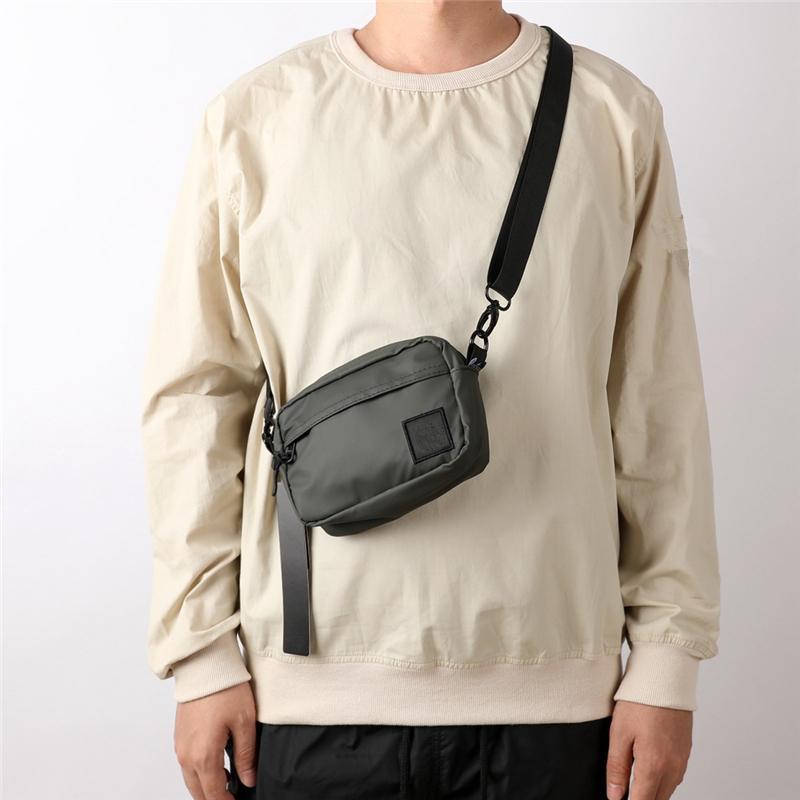 sac vertical et horizontal avec des modes masculines de mode de mode massif de la mode à l'épaule unique Sports Sports Mens