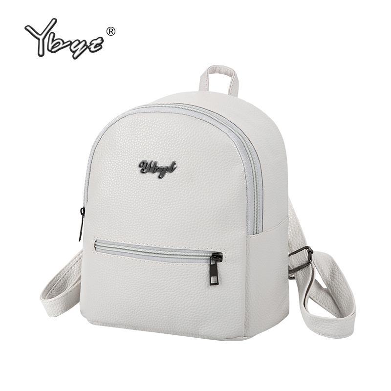 Рюкзак ybyt бренд preppy стиль твердые женщины kawaii rucksack простой личи шаблон дамы путешествия студенческая школа
