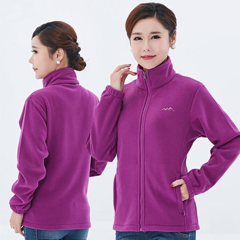 2021Large Taille 6XL Winter Molleton chaud Sweater 2 Visage Porter des hommes Femme En plein air Camping Escalade Randonnée Sport Entraînement Veste en vrac