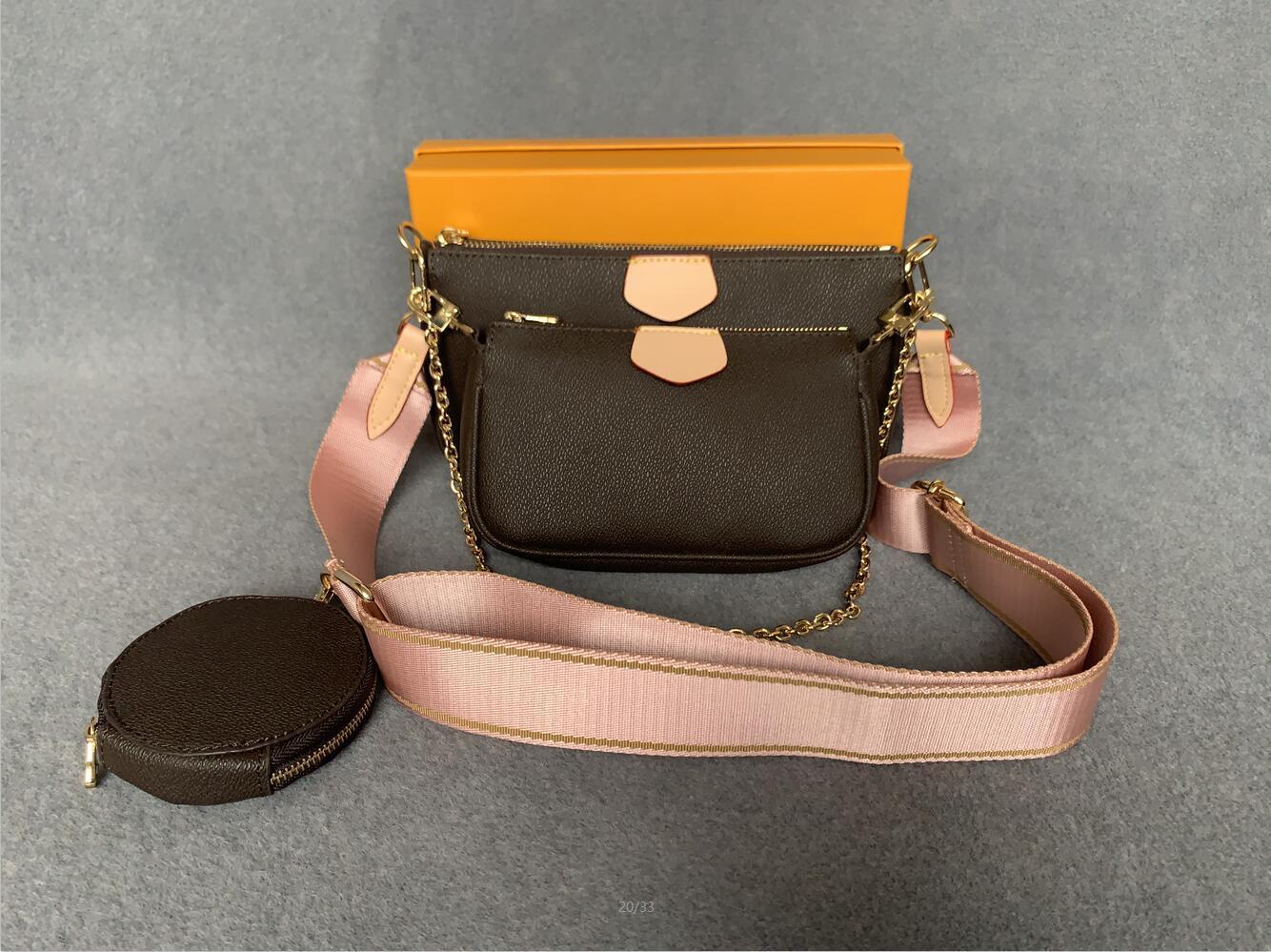 Bolso más vendido Compras Free Designer Fashion Fashion Hombro de tres piezas Combinación de bolsas de teléfono M4 Rxrde