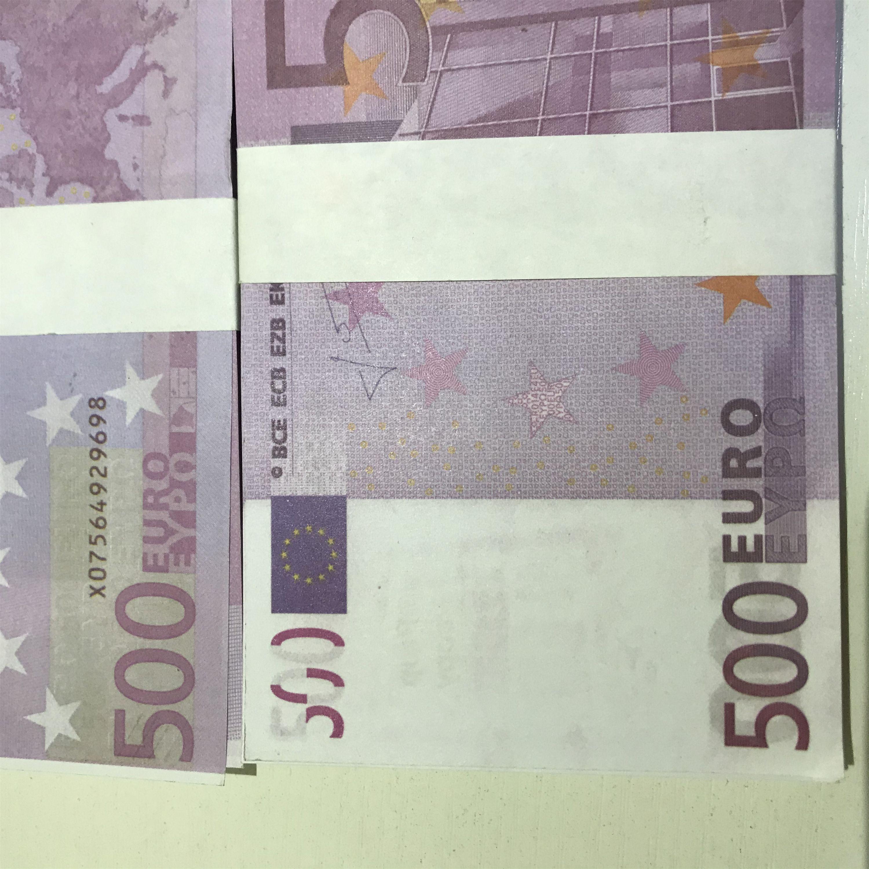 Nouvelle Magic Falfee Toy Faux Papier Ticket Billet Dollar Dollar Props Euro Pound Pound Access Enfants Cadeau 500 LE500-25 DMQUE MMREL